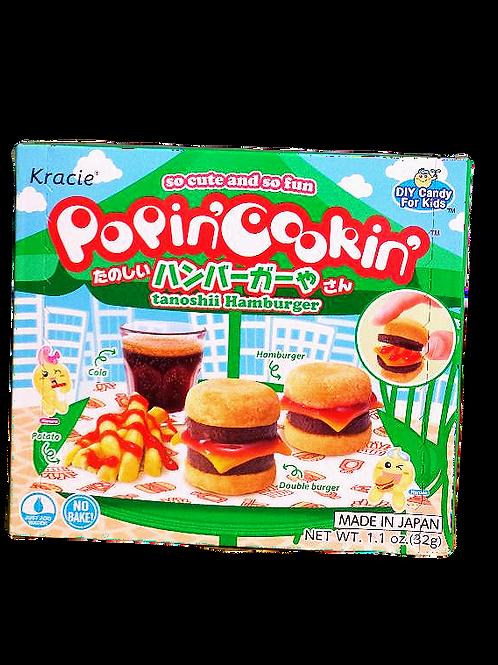 Kracie PoPinCookin tanoshii Hamburger 8 boxes Free Shipping