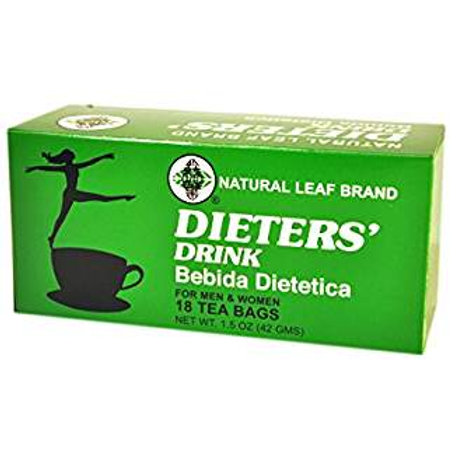 Natural Leaf Dieters Drink 18bags 4 boxes Free Shipping