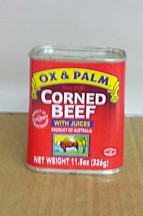 Ox & Palm Corned Beef 326gm, 4 cans for $45.99+Free Shipping