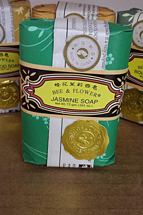 Bee & Flower Jasmine Soap 12x75gm Free Shipping