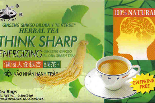 Tai Chi Think Sharp Herbal Tea 12bags 12 boxes Free Shipping