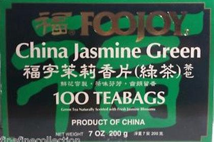 Foojoy Jasmine Green Tea 100bags