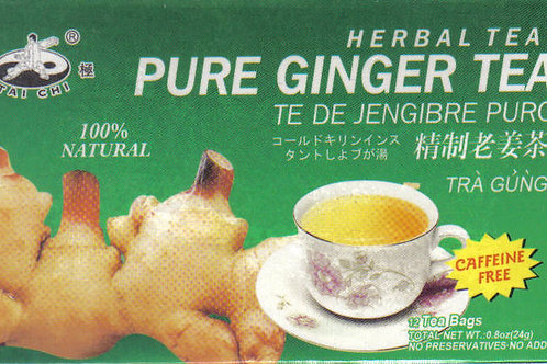 Tai Chi Pure Ginger Tea 12bags 12 boxes Free Shipping