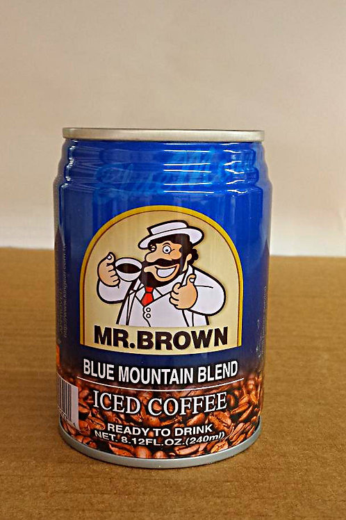 Mr. Brown Blue Mountain Blend Coffee 240ml Free Shipping