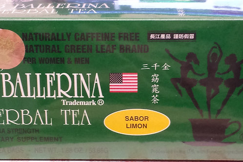 3 Ballerina Herbal Tea 18bag  9 boxes Free Shipping