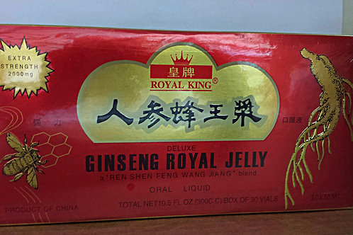 Royal King Ginseng Royal Jelly 30x10ml Free Shipping