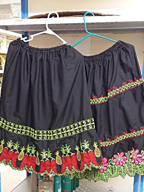 Pohnpei Skirt Traditional Design (Uhrose) Free Shipping