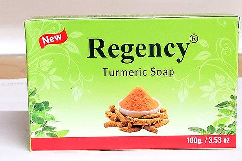 Regency Turmeric Soap 3.53oz 3 bars Free Shipping