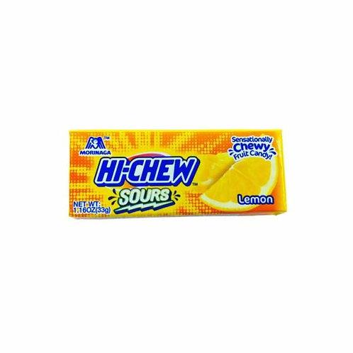 Hi-Chew Sours Lemon 33gm Free Shipping