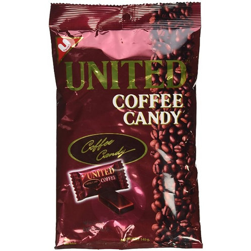 United Coffee Candy 125gm 4 pkg Free Shipping