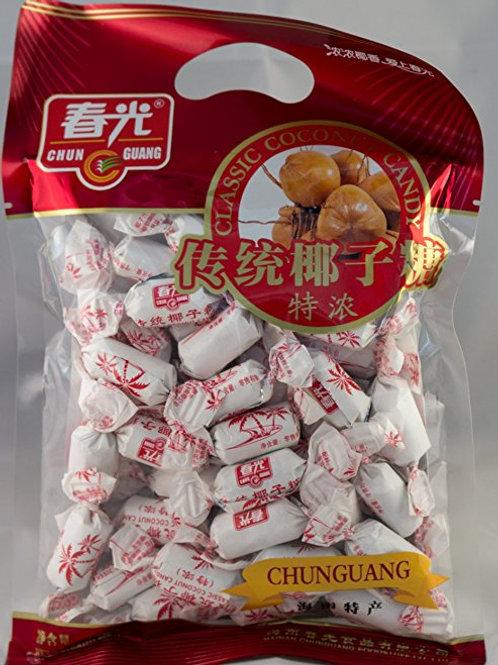 Chun Guang Classic Coconut Candy 250gm 6 pkgs free Shipping
