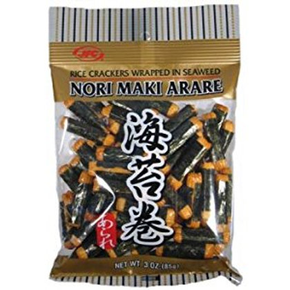 JFC Nori Maki Arare 3oz Free Shipping