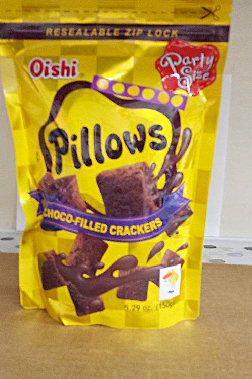 Oishi Pillows 150gm 4 pkgs for $21.09+Free Shipping
