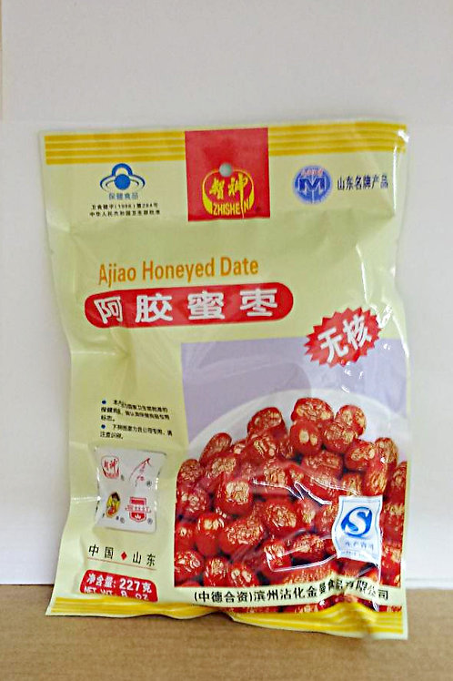 ZhiShen Ajiao Honey Date 8oz 5 pkgs Free Shipping