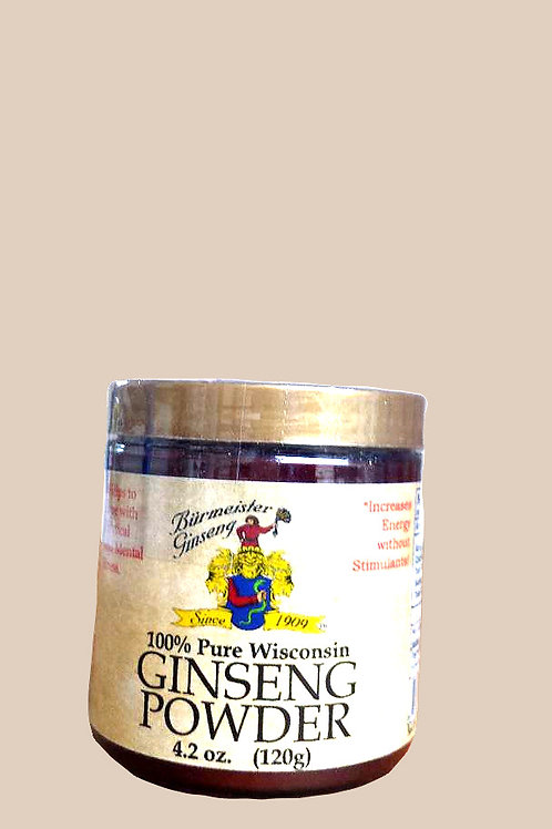 Burnmeister Ginseng Powder 120gm Free Shipping