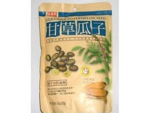 Liquorice Watermelon Seed 180gm 4 pkg Free Shipping