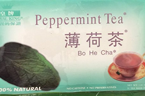Royal King Peppermint Tea 20bags 5 boxes Free Shipping