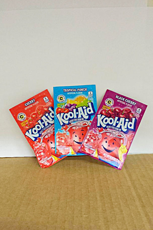 Kool-Aid Tropical Punch, Cherry, or Black Cherry Assorted 12 for $6.99+Free Ship