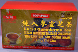 Royal King Panax Ginseng Lucid Ganoderma Tea 20bags 5 boxes Free Shipping