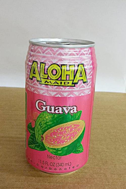 Aloha Maid Guava Nector 340ml Free Shipping