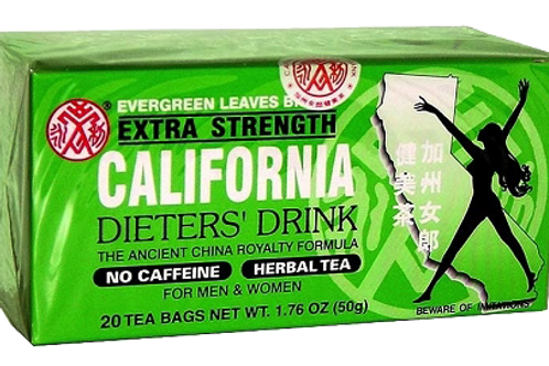 California Dieters Drink Extra Strength 20bags 8 boxes Free Shipping