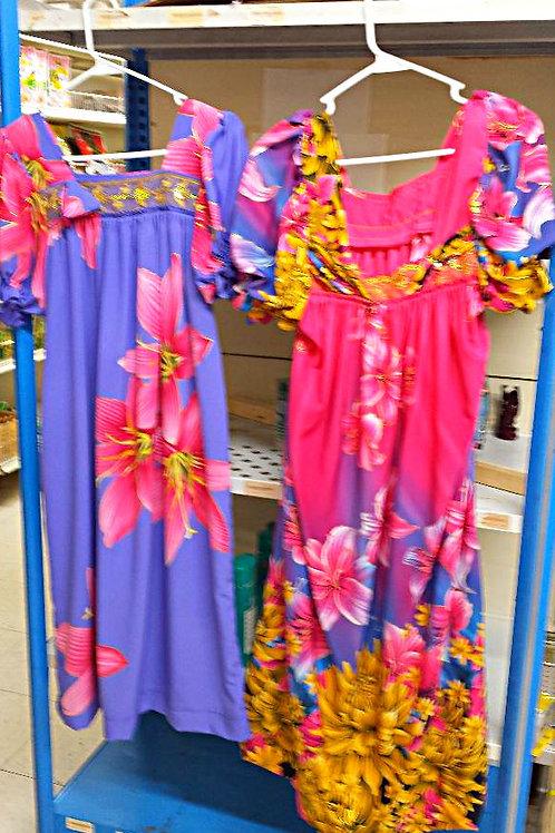 Micronesian Dress (MouMou) Free Shipping