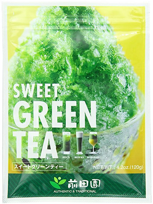 Maeda-En Sweet Green Tea 120gm 2 pkg Free Shipping