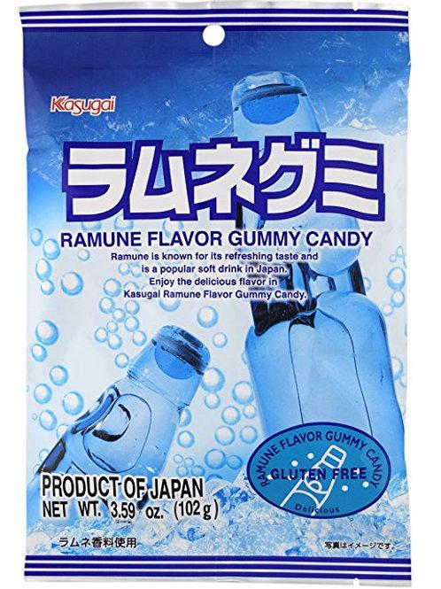 Kasugai GLUTEN FREE Ramune Gummy Candy 102gm Free Shipping