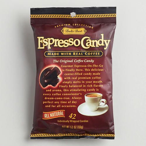 Bali's Best Expresso Candy 150gm 4pkgs Free Shipping