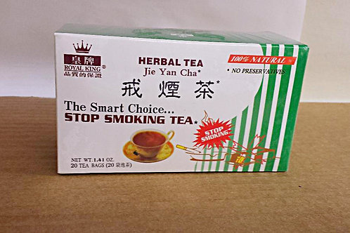 Royal King Stop Smoking Tea 20 bags 5 boxes Free Shipping