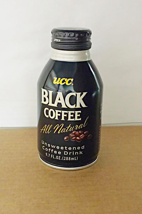 UCC Black Coffee 288ml 4 cans Free Shipping