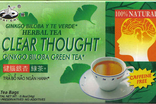 Tai Chi Clear Thought Tea 12bags 6 boxes Free Shipping