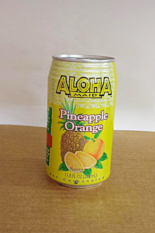 Aloha Maid Pineapple Orange Nector 340ml Free Shipping