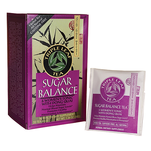 Triple Leaf Tea Sugar Balance 20bags 8 boxes Free Shipping