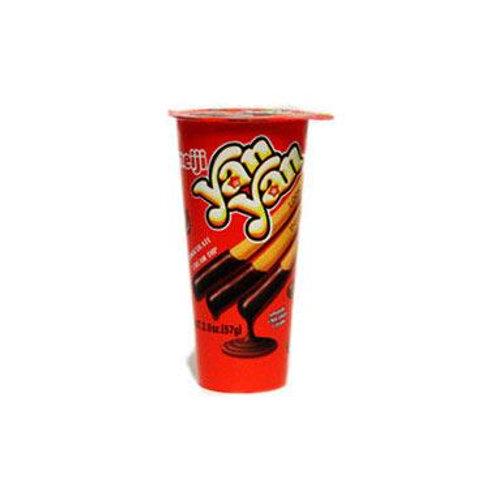 Meiji Yan Yan Chocolate Creme 57gm 3 cups Free Shipping