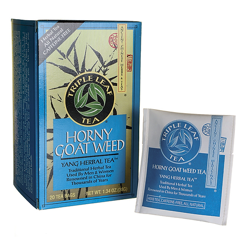 Triple Leaf Horny Goat Weed Tea 20bags 4 boxes Free Shipping