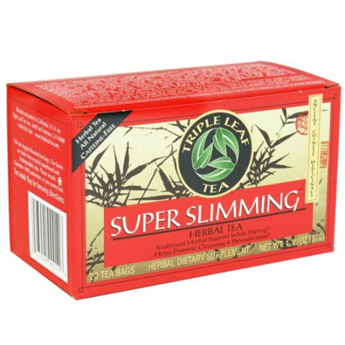 Triple Leaf Super Slimming Herbal Tea 20bags 8 boxes Free Shipping