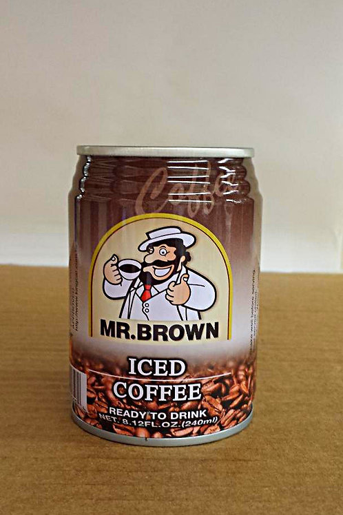 Mr. Brown Iced Coffee 240ml Free Shipping