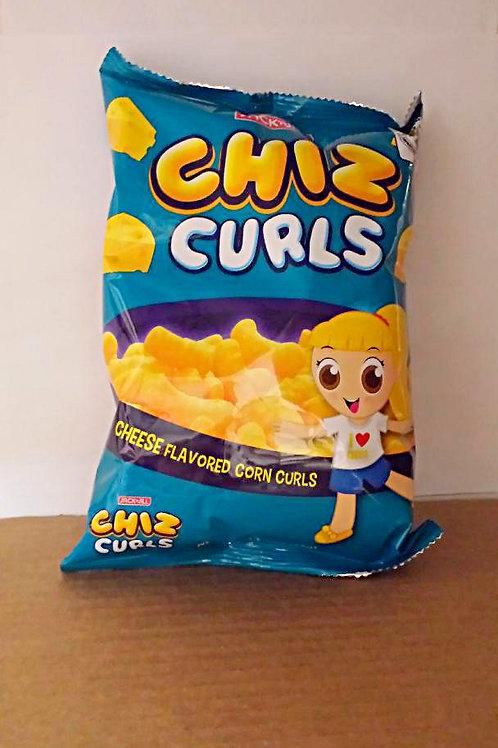 J&J Chiz Curls 55gm 5 pkg FRee Shipping