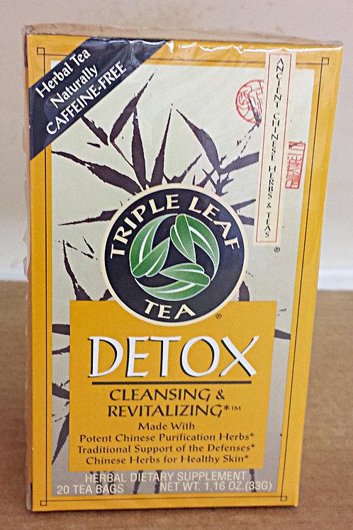 Triple Leaf Detox Tea 20bags 4 boxes Free Shipping