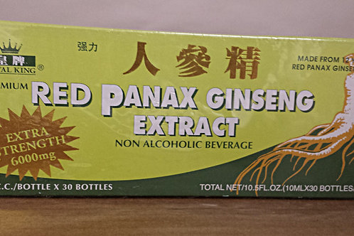Pince of Peace Red Panax Ginseng Extractum 30x10cc Free Shipping