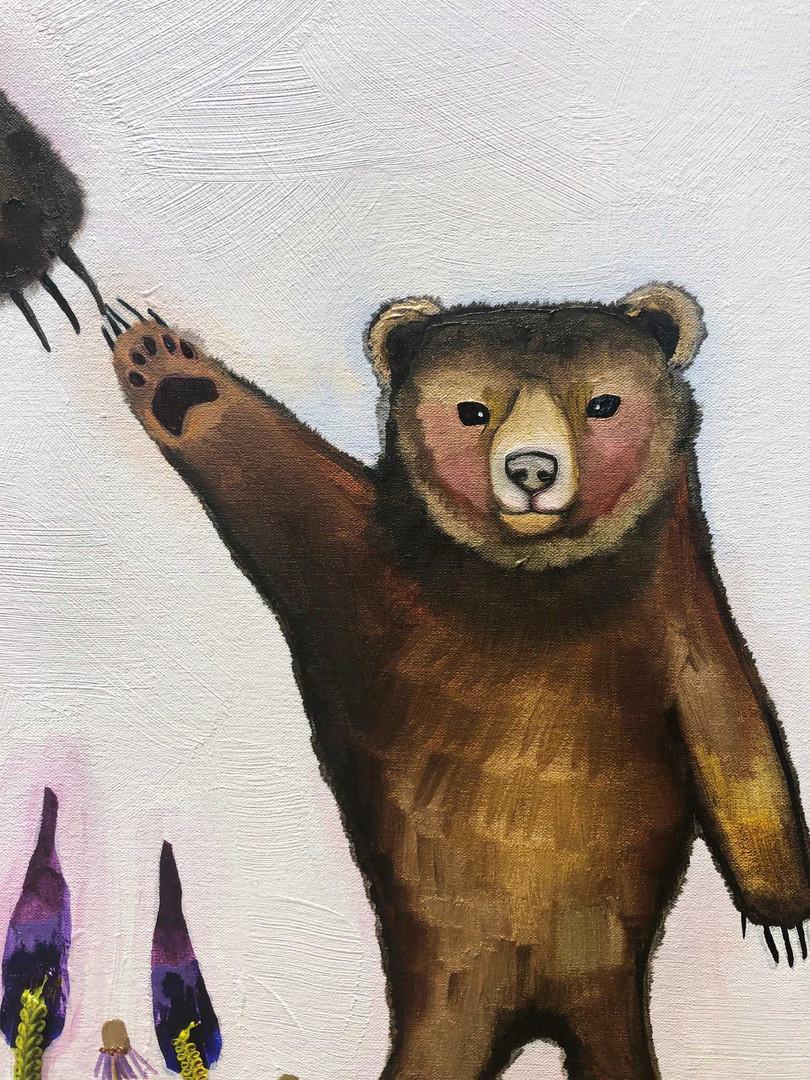 Mama Bear close up 5