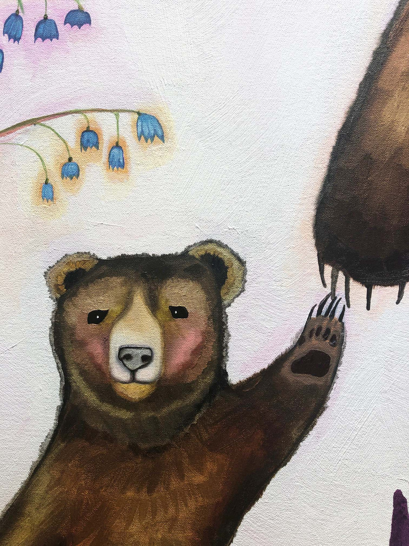 Mama Bear close up 7