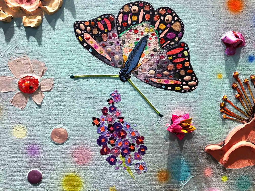 Butterfly Bush close up 4