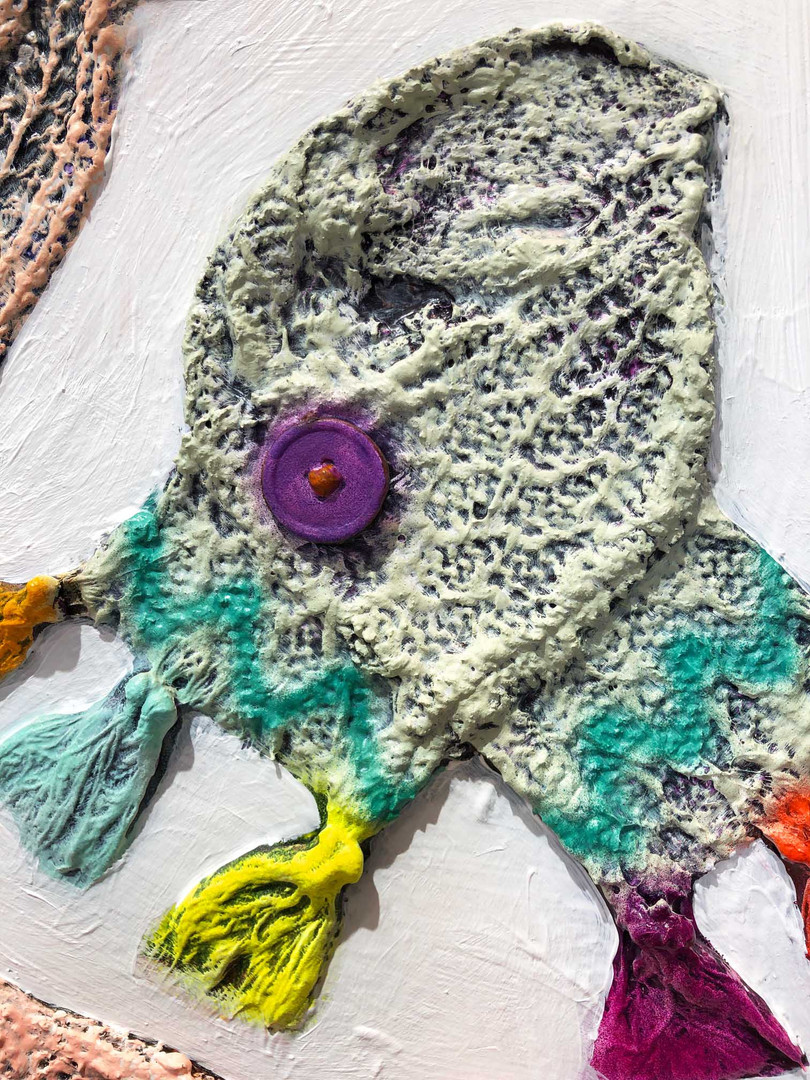 Scarves close up 2