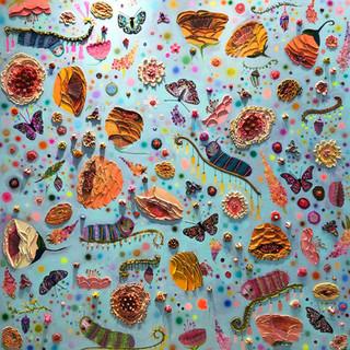 """Butterfly Bush 60x60"""" $6200"""