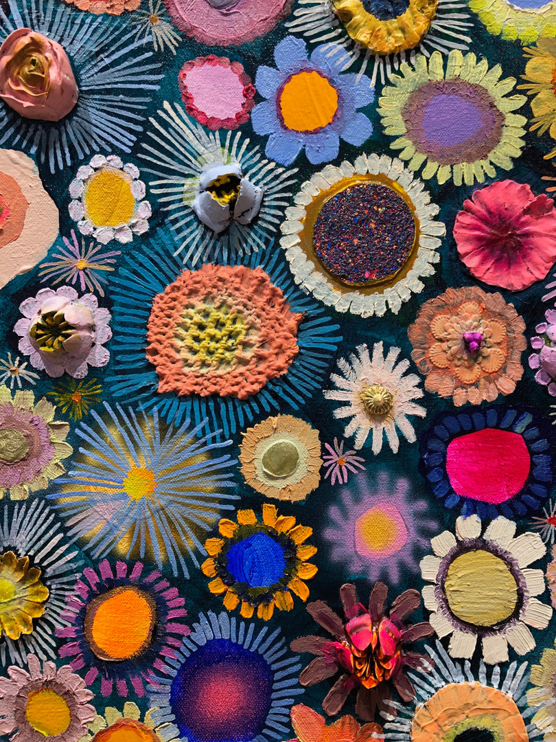 Flower Couture close up 2