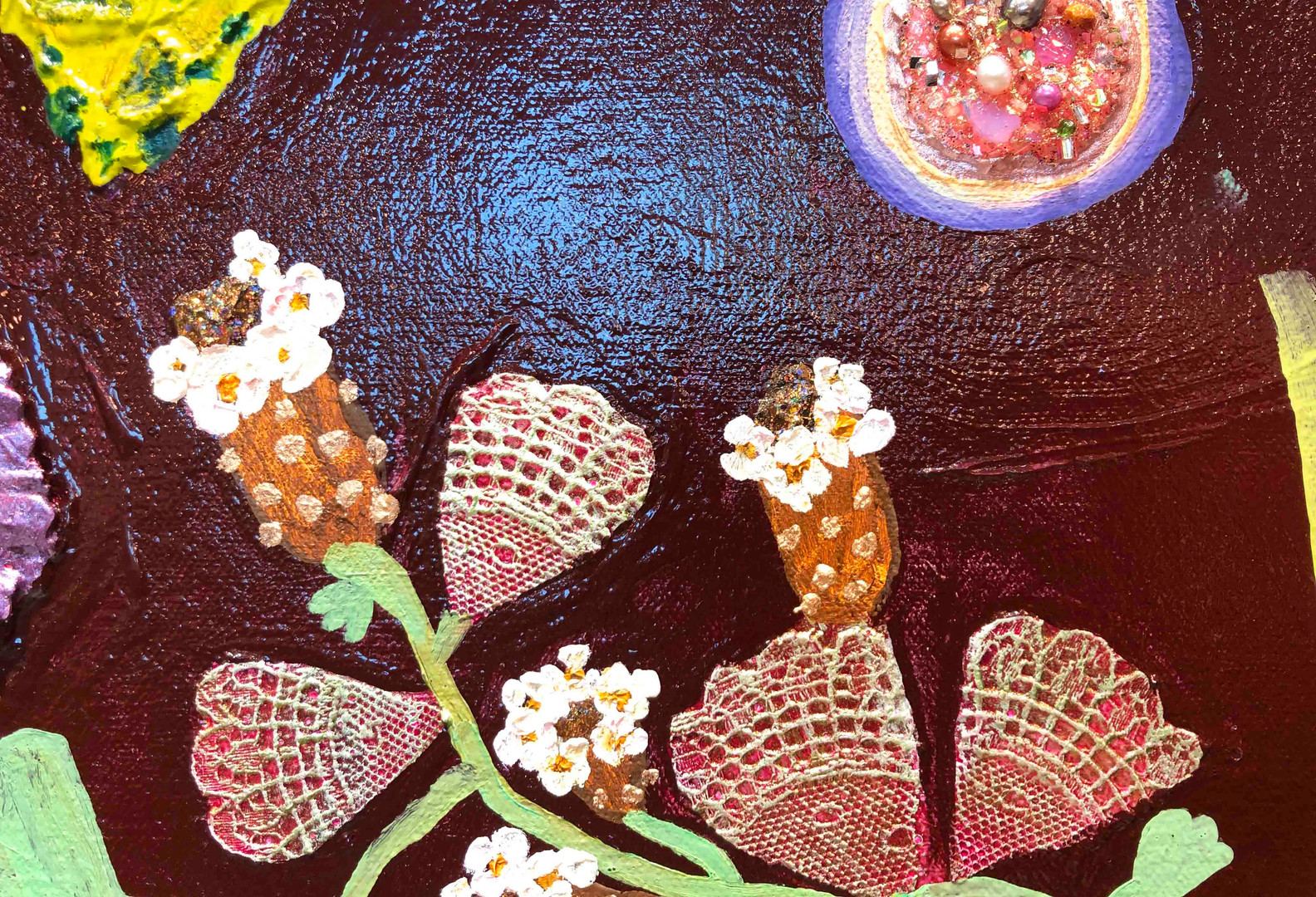 Fig Tree Garden close up 4