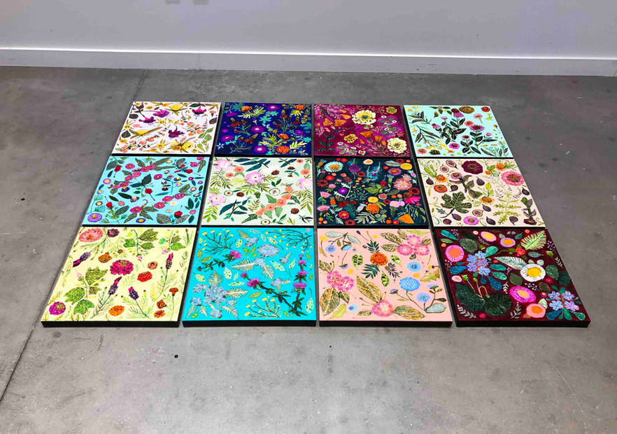 Eli's Wildflowers Collage