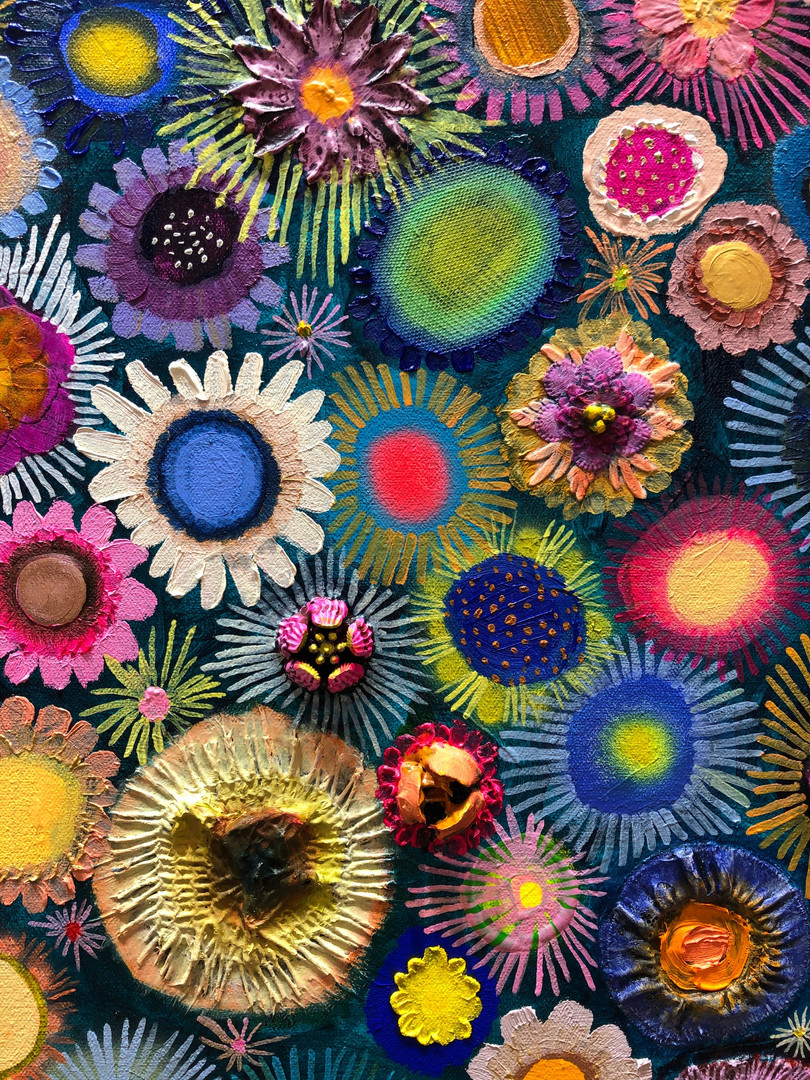 Flower Couture close up 1